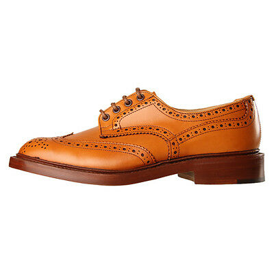 New Mens Trickers  Bourton Brogues - Acorn Antique 100% Leather