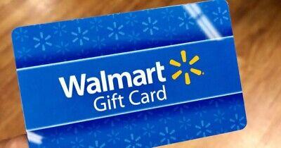 Walmart Gift Card 50 Value New Ebay