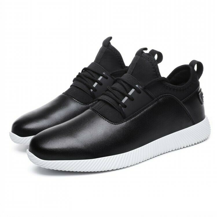 Mens Comfortable Lace Up Sneakers Athnic Light Casual shoes Flats Heel Outdoor