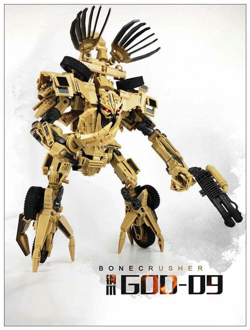 Pre-order Transformation Toy TF Dream Studio GOD-09 MEGATRON Movie Action Figure