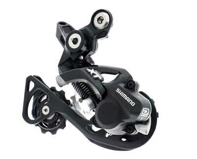 SHIMANO DEORE XT RD-M786 SGS 10 SPEED SHADDOW REAR DERAILLEUR LONG CAGE-BLACK