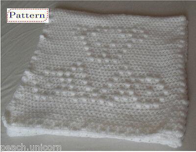 CROCHET PATTERN: Teddy Bear Baby Blanket | 311x400
