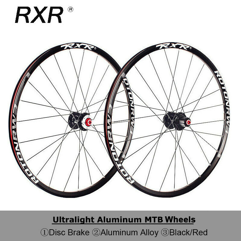 RXR MTB Bike 26 27.5 29in Wheelset Carbon Fiber Hub Wheels Disc Brake 100 135mm