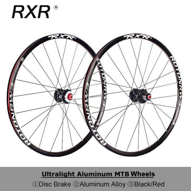 "New Bicycle Wheelset 26/""//27.5/"" Detachable Hubs MTB Bike Front/&Rear Wheel Parts"