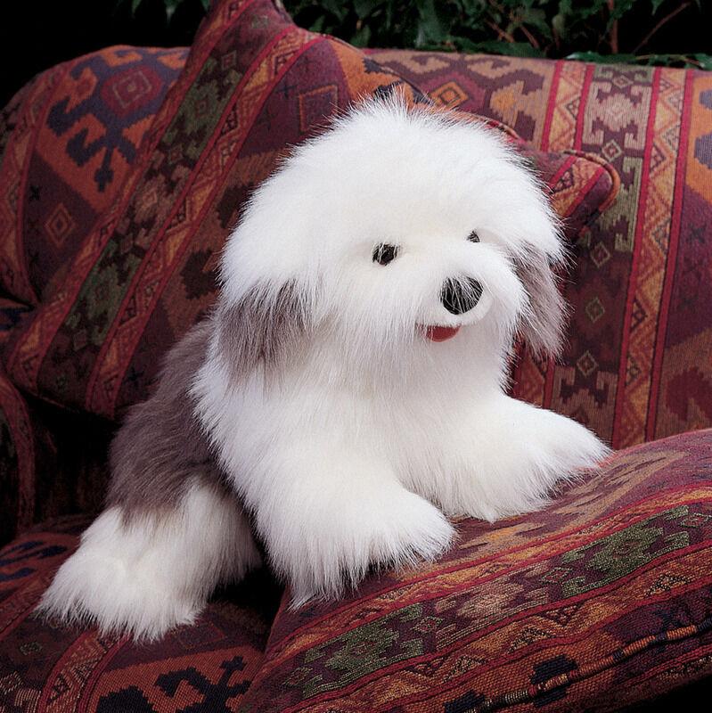 NEW PLUSH SOFT TOY Folkmanis 2029 Sheepdog Sheep Dog Hand Puppet