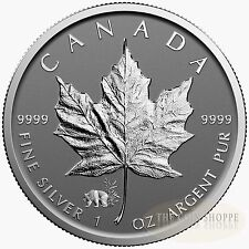 PANDA PRIVY II 2017 1 oz Pure Silver Maple Leaf Reverse Proof Coin
