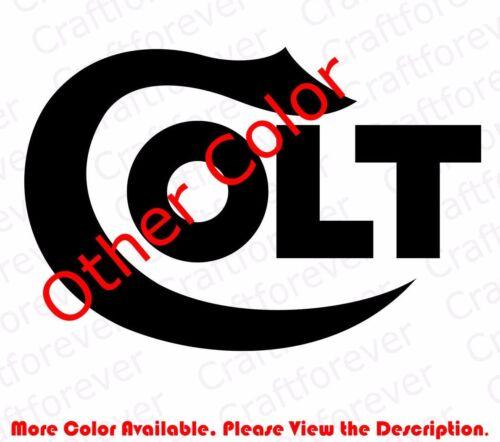 From USA COLT Firearms Vinyl Decal Sticker Gun Pistol Car Window//Phone FA006