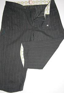Noa Noa Hose Stiefelhose 3 4 Länge Public Black Striped size XS Neu ... 5fd5846c48