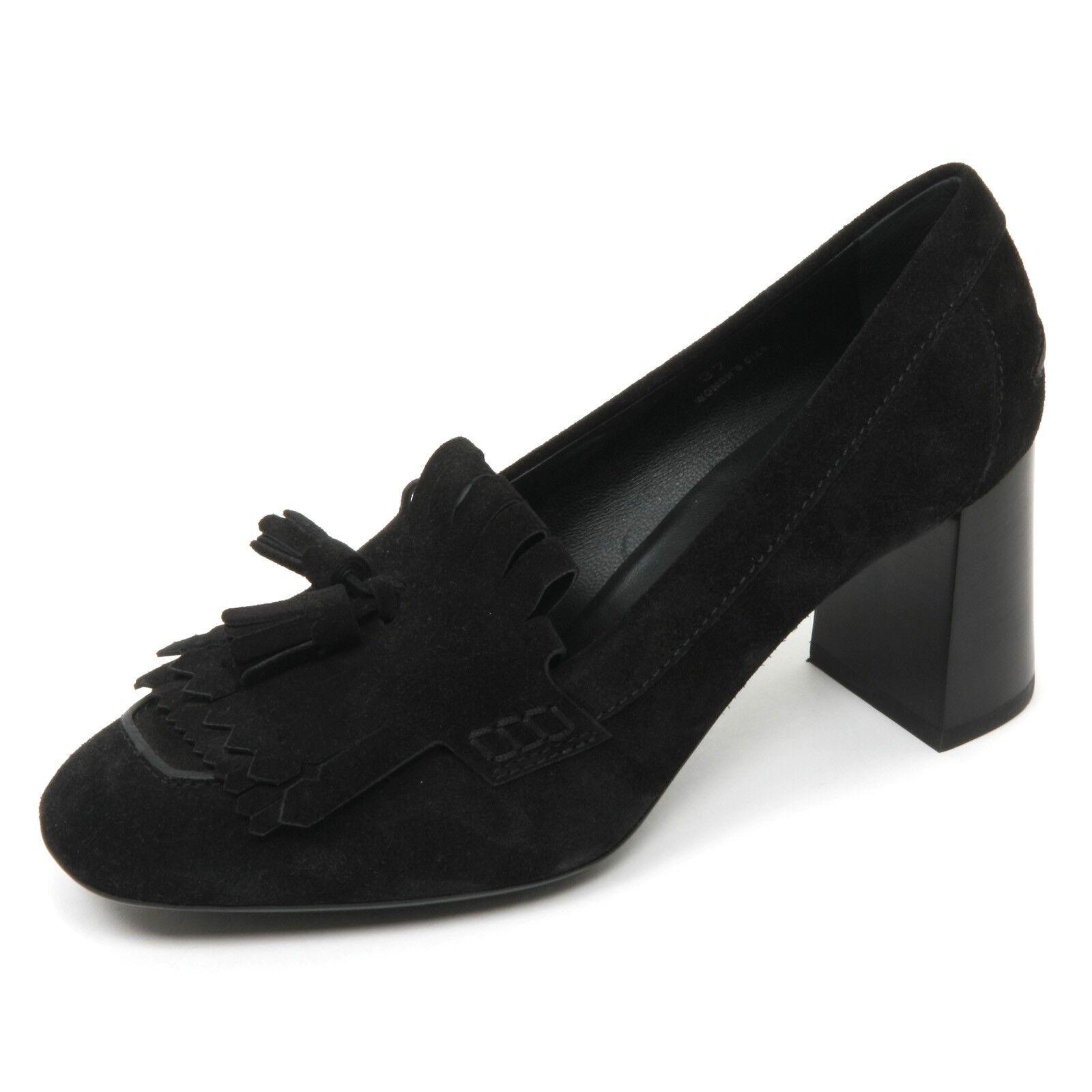 ti renderà soddisfatto B9578 decollete donna TOD'S TOD'S TOD'S gomma T70 scarpa frangia nappine nero scarpe Donna  autorizzazione ufficiale
