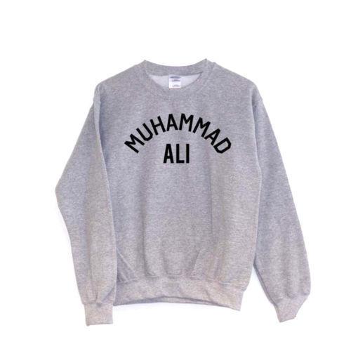 Muhammad Ali Pullover//Pullover//Pulli Boxen Vintage Retro Lehm Trainieren
