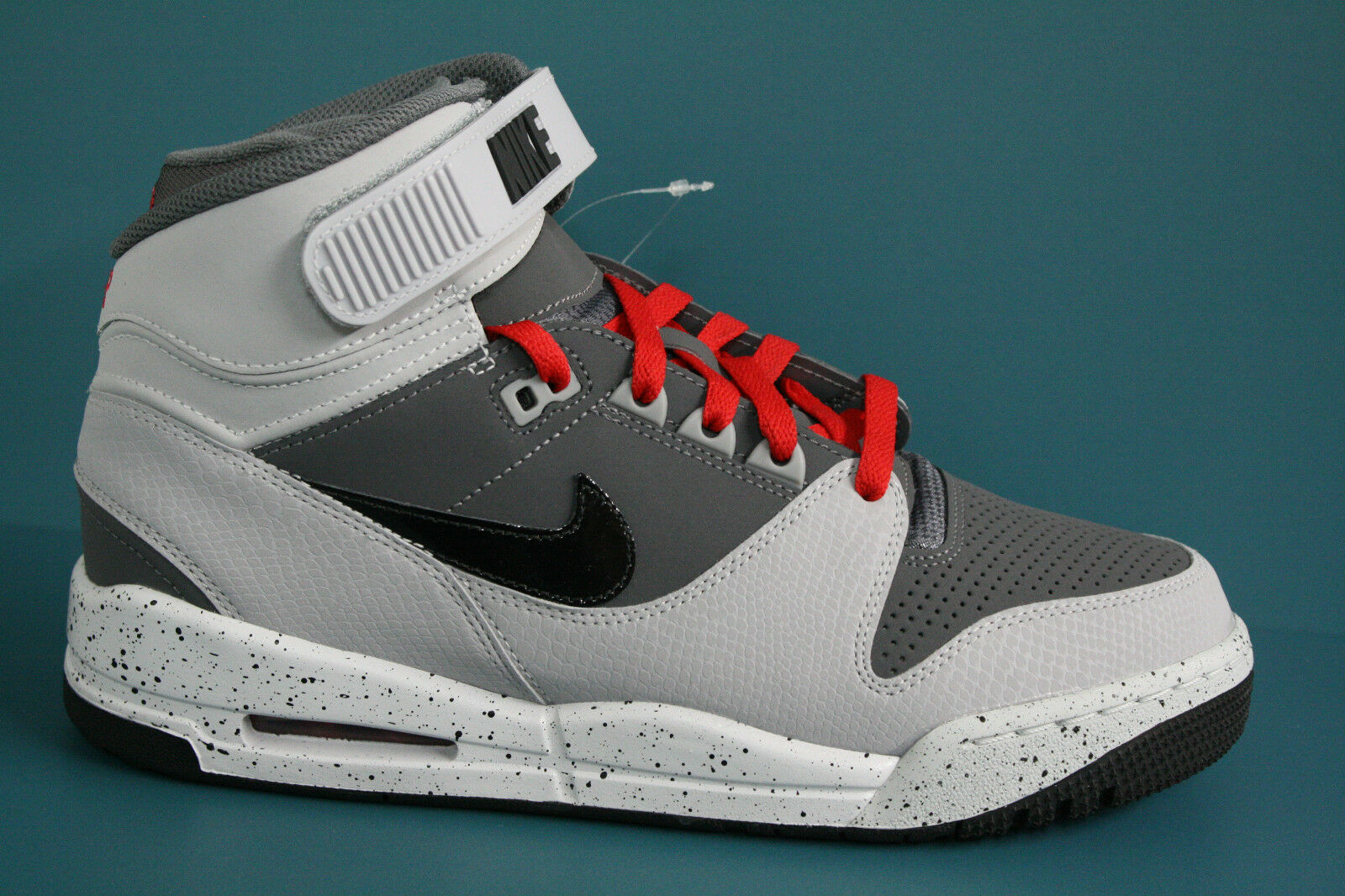 599462-003 Men's Nike Air Revolution High Top Shoe!! Dark Grey-Black-Wolf Grey!! New shoes for men and women, limited time discount