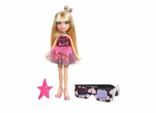Bratz Funk N Glow Doll Fall 2002 Limited Edition MINT Flashing Lights Cloe for sale online