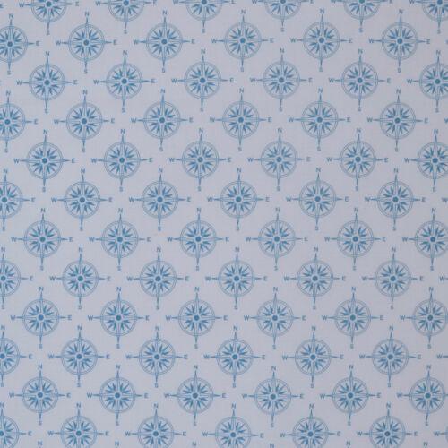 Nautical sailing themed fat quarter bundle /& fabrics per 1//2 Metre 100/% cotton