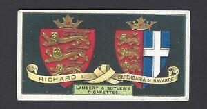 LAMBERT-amp-BUTLER-ARMS-OF-KINGS-amp-QUEENS-OF-ENGLAND-6-RICHARD-I