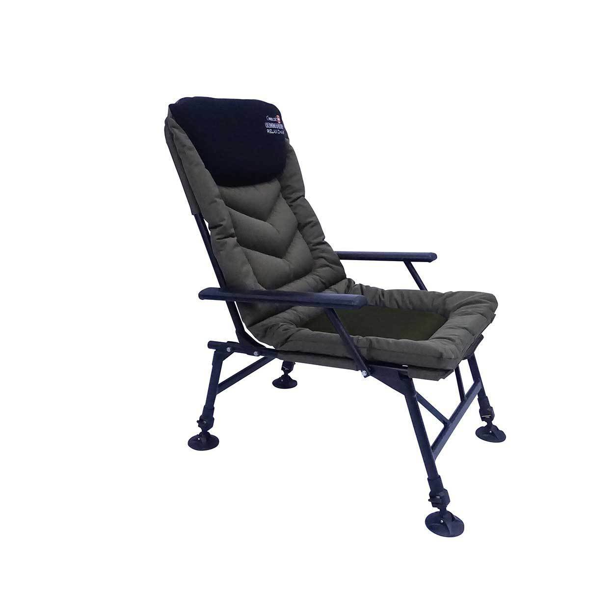 Prologic Commander Travel Green Padded Carp Fishing Chair Armchair 54335