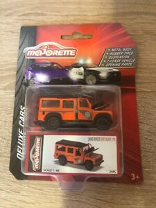 Land Rover Defender 110 Deluxe Assortment Majorette 212053152 Neu Orange