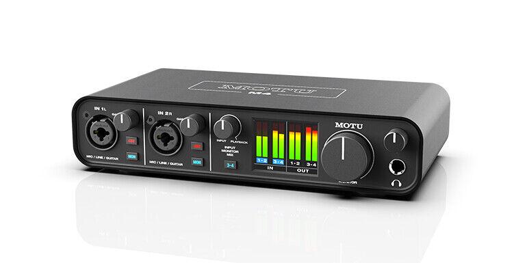 Motu M4 Interfaccia Audio USB-C 4-in 4-out per Mac, Windows iOS Qualità Studio