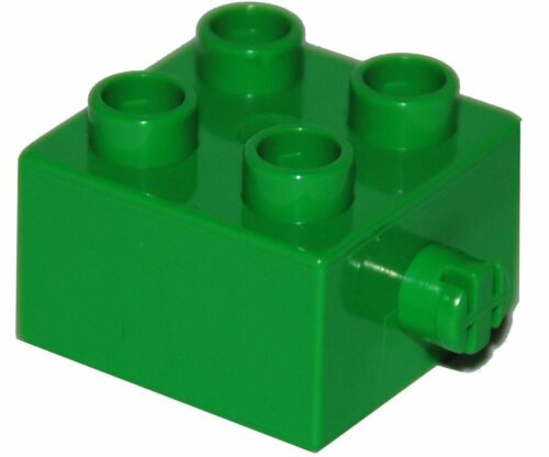 LEGO ® DUPLO ® 2x2 Pierre avec axe 3966 nouveau