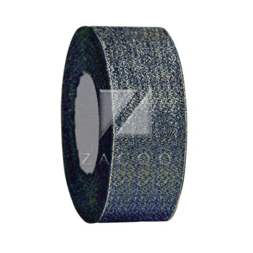 "25 Yards 3//2/"" 38mm Glitzerband Glitzer Band Glitter-Tape Dekoband RN0046"