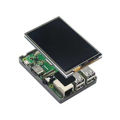 3.5 inch HDMI Touch Screen LCD Display ABS Case for Raspberry Pi 3B+//3B//2B #w