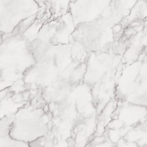 MARBLESQUE PLAIN MARBLE WALLPAPER WHITE FEATURE WALL NEW FINE DECOR FD42274