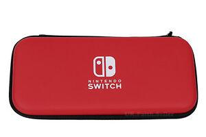 Red-protectora-dura-caso-bolsa-para-accesorios-de-juego-de-consola-Nintendo-Switch