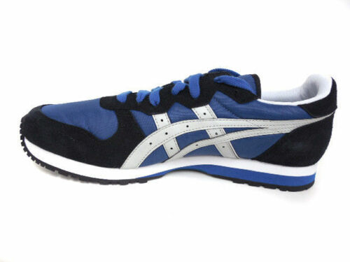 M Blue//Black//Grey Suede Casual Shoes ONITSUKA TIGER DL301.5610 OC RUNNER Mn/'s