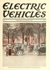 ELECTRIC VEHICLES MAGAZINE 43 issues antique classic old cars trucks 1913-1917