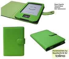 Beste Tasche für Tolino Shine E-Book Reader - Case Schutzhülle Farbe: grün green