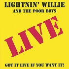 Lucky as the Devil by Lightnin' Willie & the Poorboys (CD, Jan-2005, BLUETRACK RECORDS)