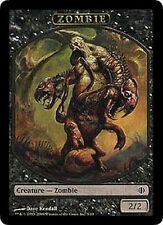 4x TOKEN Zombie 2/2 MTG MAGIC SoA Shards of Alara Eng/Ita
