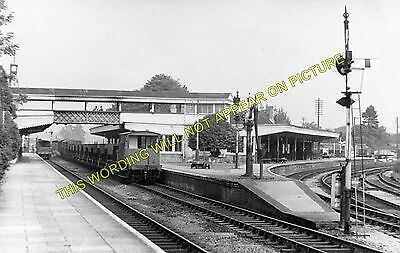 1 Kemble Railway Station Photo Tetbury and Cirencester. Minety to Chalford
