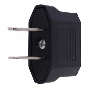 10stk-Reise-Strom-Adapter-EU-DE-Deutschland-Stecker-auf-fuer-USA-US-Mexi-A0B5
