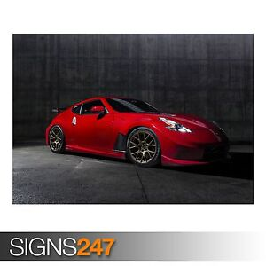 NISSAN 370Z NISMO 9006 Car Poster Picture Poster Print Art A0 A1 A2 A3 A4