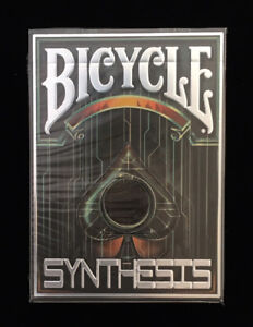Bicycle Albino Dragon/'s Synthesis Blue Cyberpunk Playing Cards Deck New Limited