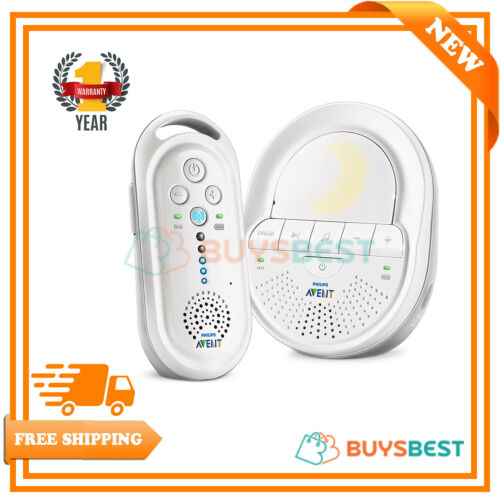Philips Avent Dect baby Monitor with Night Light and Lullabies-scd506//05