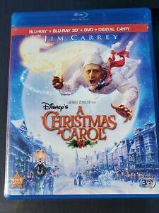 3D Disney A Christmas Carol Blu ray,DVD DIGITAL BLUERAY movie Jim Carrey   eBay