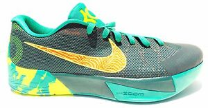 7a3088257fc6 Nike KD Trey 5 II Shoes Dark Emerald Volt Total Orange SZ 12
