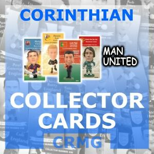 CRMG-Corinthian-ProStars-COLLECTOR-CARDS-TEAM-MAN-UNITED-MUFC-choose-from-list