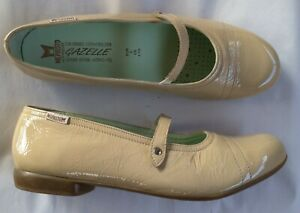 Shoes-ballerinas-mephistopheles-taupe-new-40