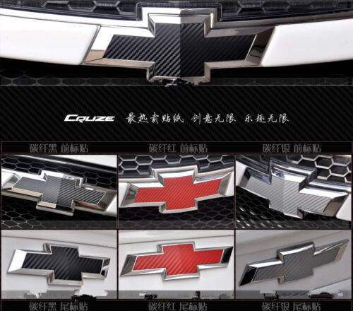 Chevy Bowtie Emblem Overlay Insert Decal Pre Cut Silverado Tahoe Suburban Truck