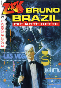 BRUNO-BRAZIL-DIE-ROTE-KETTE-lim-666-Ex-ZACK-SONDERHEFT-2-WILLIAM-VANCE-XIII