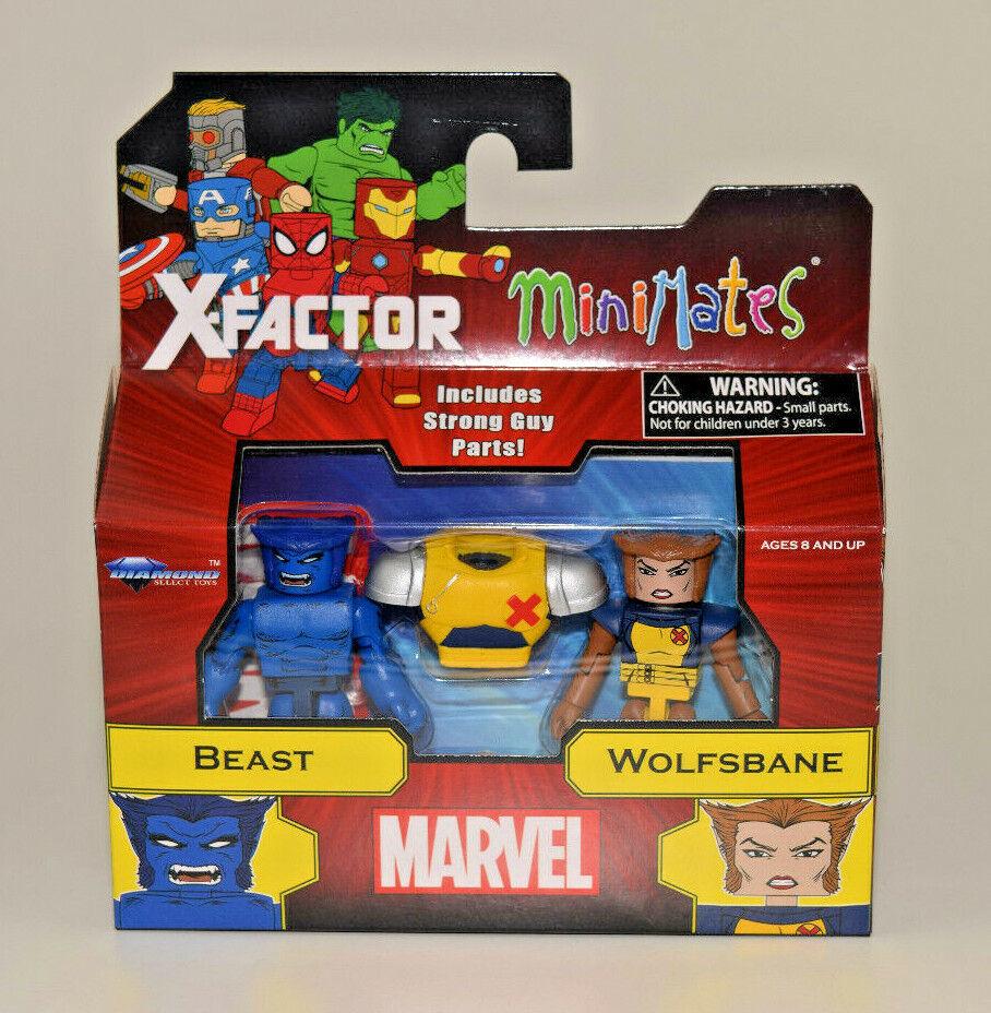 Marvel Minimates New Mutants Wolfsbane