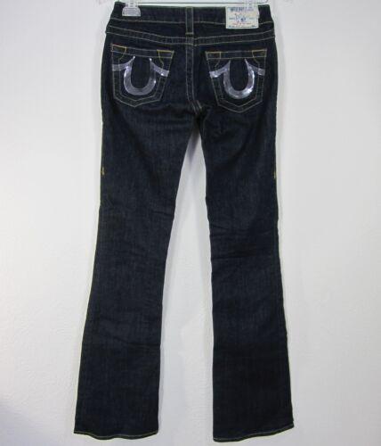 Taglia Religion Blu scamosciata Pantalone 25 taglia Sezione Jeans True scuro 5F6xq8w5Y4