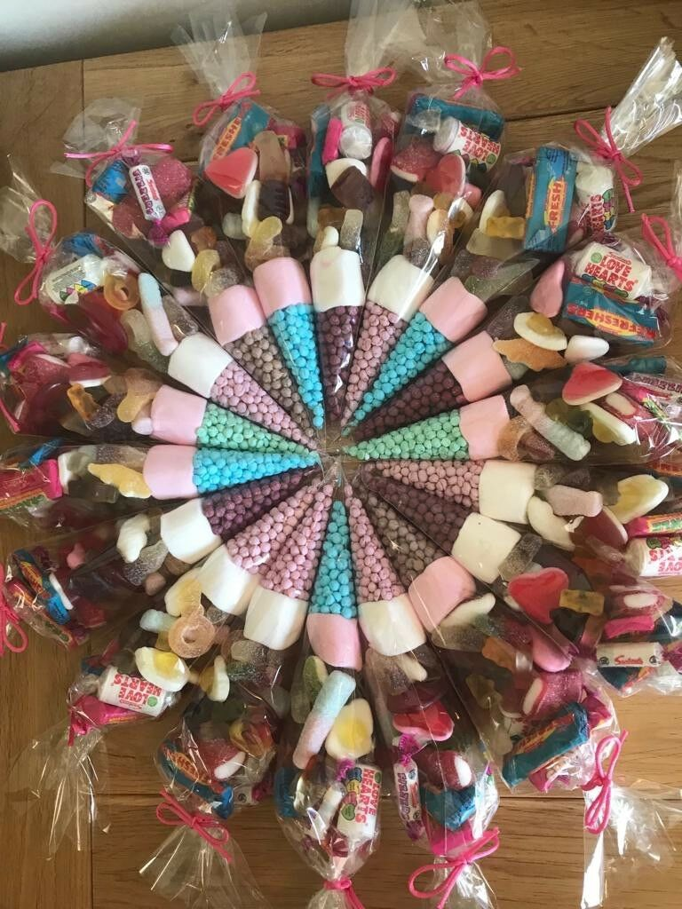 30 X Pre-Filled Sweet Cones All Occasions, Birthday Party