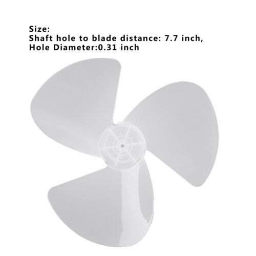 Plastic Fan Blade 3//5//6 Leaves Replacement for Pedestal Stand Fan Table Fanner