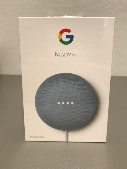 Google Nest Mini (2nd Generation) Smart Speaker -Charcoal/Chalk