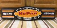 Mopar Chrysler Parts Accessories Vintage Style Dodge Plymouth Metal Garage 3d