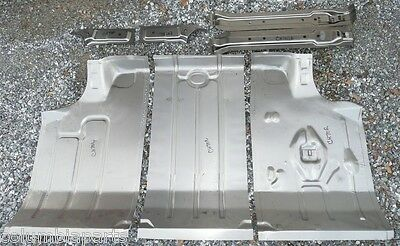 Trunk Floor Pan Panel Kit Chevelle 66 67 3PC Malibu EDP
