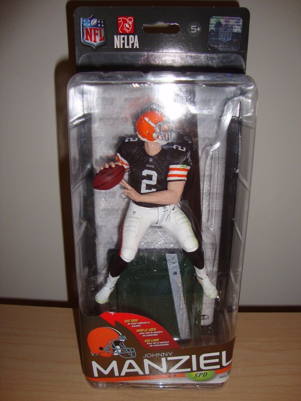 Johnny Manziel NFL 35 Browns Autographed Signed Variant Chase McFarlane McFarlane McFarlane  100 42bcba